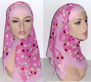 квадратный хиджаб