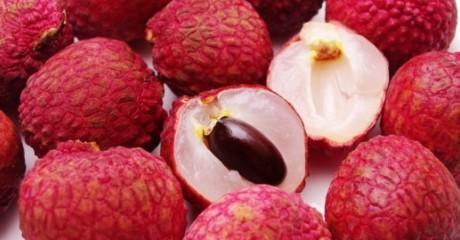 Фотография фрукта личи