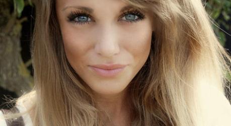 Лёгкий макияж для голубых глаз