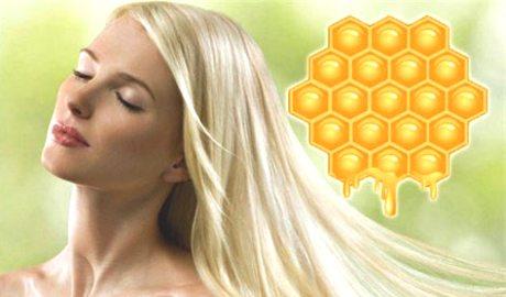 Маска для осветления волос с медом