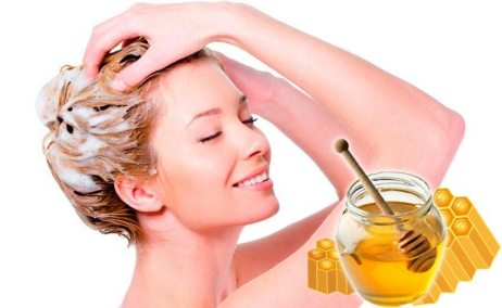 Маска для роста волос с мёдом
