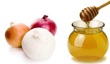 Маска для волос с медом и луком