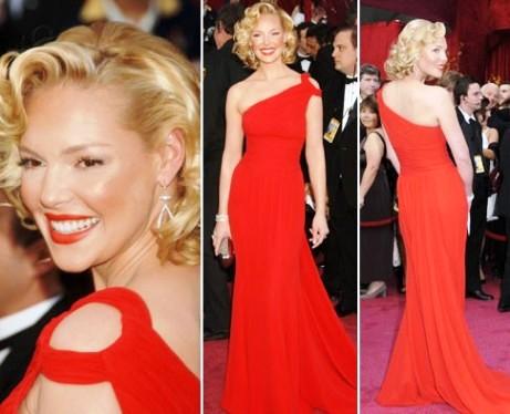 Цвет губ к красному платью