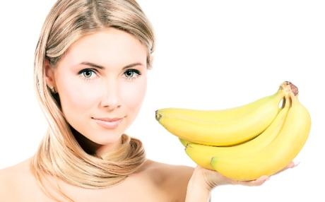 Банановая маска – заряд витаминов для кожи