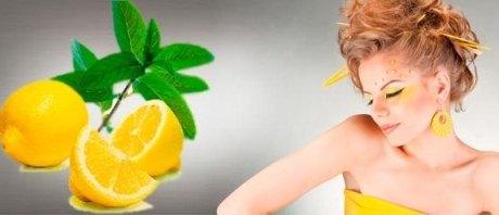 Лимонное осветление волос