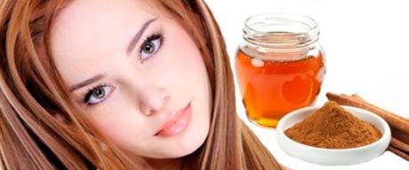 Осветление волос корицей и медом