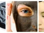 Черная глина для лица и волос